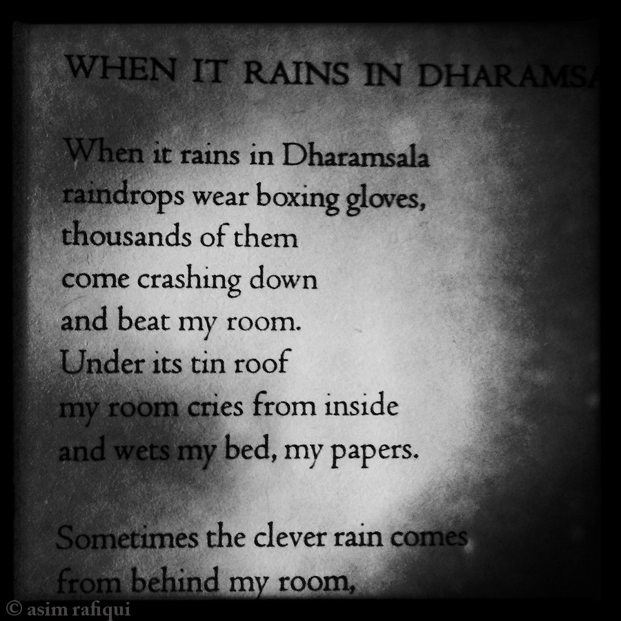 When It Rains In Dharamshala by Tenzin Tsundue