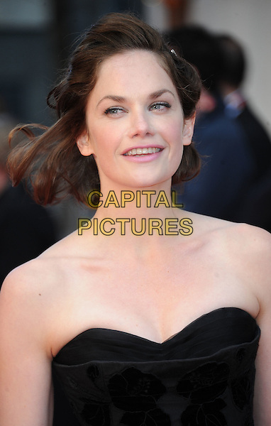 Ruth Wilson.The Olivier Awards 2012, Royal Opera House, Covent Garden, London, England..April 15th, 2012.headshot portrait black strapless.CAP/WIZ.© Wizard/Capital Pictures.