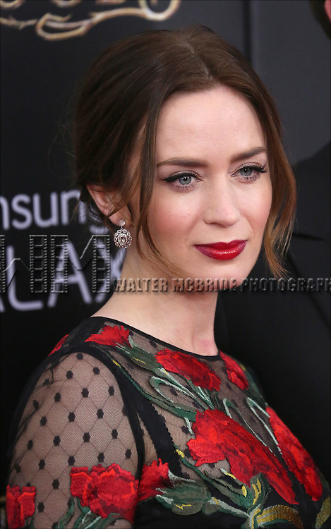 Emily Blunt attends the 'Into The Woods' World Premiere at Ziegfeld Theater on December 8, 2014 in New York City.