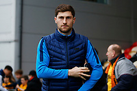 Ben Davies of Tottenham Hotspur arrives at Rodney Parade prior to kick off of the Fly Emirates FA Cup Fourth Round match between Newport County and Tottenham Hotspur at Rodney Parade, Newport, Wales, UK. Saturday 27 January 2018