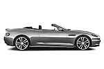 Passenger side profile view of a 2007 - 2012 Aston Martin DBS Volante Convertible.