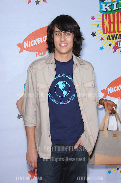 Actor TEDDY GEIGER at the 2006 Nickelodeon Kids Choice Awards at UCLA Los Angeles..April 1, 2006 Los Angeles, CA.© 2006 Paul Smith / Featureflash