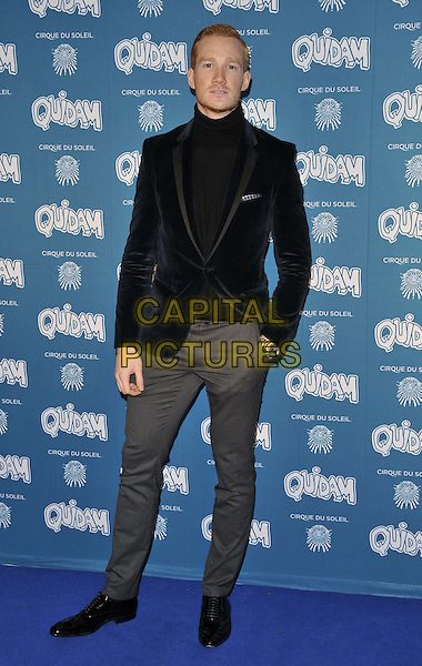LONDON, ENGLAND - JANUARY 07: Greg Rutherford attends the &quot;Cirque du Soleil: Quidam&quot; VIP press night, Royal Albert Hall, Kensington Gore, on Tuesday January 07, 2014 in London, England, UK.<br /> CAP/CAN<br /> &copy;Can Nguyen/Capital Pictures