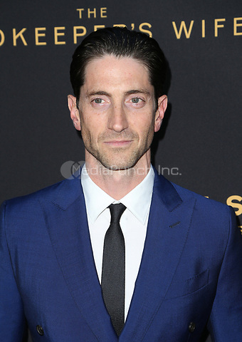 "HOLLYWOOD, CA - March 27: Iddo Goldberg, At The Premiere Of Focus Features' ""The Zookeeper's Wife""  At The ArcLight Hollywood In California on March 27, 2017. Credit: FS/MediaPunch"