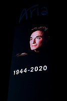 Las Vegas NV - May 10: The Aria Resort and Casino pays homage to Roy Horn on the Las Vegas Strip in Las Vegas, Nevada on May 10, 2020. <br /> CAP/MPI/DAM<br /> ©DAM/MPI/Capital Pictures