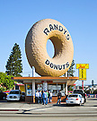 Randy's Donuts, Built 1952, Inglewood, California