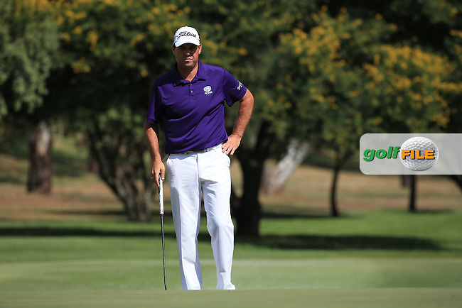 Keith Horne (RSA) in action during Round Two of the 2016 BMW SA Open hosted by City of Ekurhuleni, played at the Glendower Golf Club, Gauteng, Johannesburg, South Africa.  08/01/2016. Picture: Golffile | David Lloyd<br /> <br /> All photos usage must carry mandatory copyright credit (&copy; Golffile | David Lloyd)
