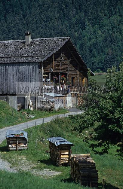 Europe/France/Rhône-Alpes/74/Haute-Savoie/ENV Manigod: Chalet