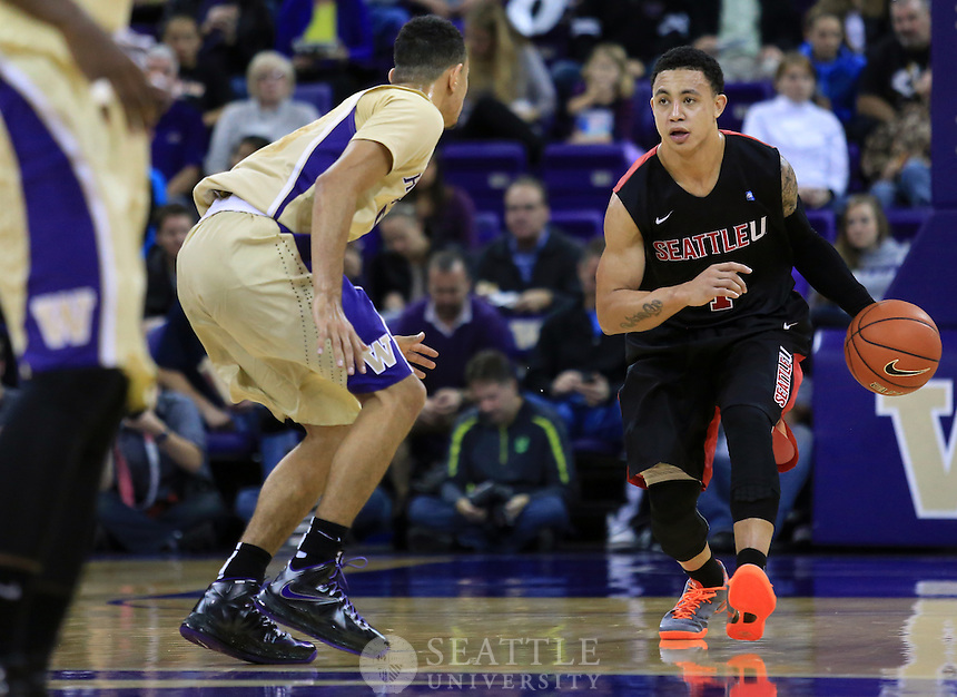 11102013- Seattle University vs. University of Washington