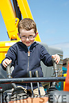 At the Kingdom County Fair in Ballybeggan on Sunday were Daniel Lenihan from Farrenfore