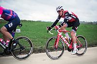 Mads Pedersen (DEN/Trek Segafredo)<br /> <br /> 74th Omloop Het Nieuwsblad 2019 (BEL)<br /> Gent – Ninove: 200km<br /> ©kramon