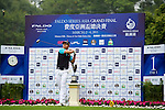 Jerome Ng of Singapore tees off on the 1st hole during the Round 1 of the Faldo Series Asia Grand Final at Mission Hills on March 2, 2011 in Shenzhen, China. Photo by Raf Sanchez / Faldo Series