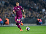 Kyle Walker of Manchester City during the premier league match at the Wembley Stadium, London. Picture date 14th April 2018. Picture credit should read: Robin Parker/Sportimage