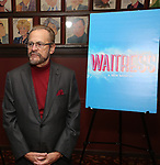 Producer Barry Weissler attend a photo call for cast change for the hit musical 'Waitress' on Broadway at Sardi's on January 4, 2019 in New York City.
