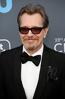 Gary Oldman attends the 23rd Annual Critics' Choice Awards at Barker Hangar in Santa Monica, Los Angeles, USA, on 11 January 2018. Photo: Hubert Boesl - NO WIRE SERVICE - Photo: Hubert Boesl/dpa /MediaPunch ***FOR USA ONLY***