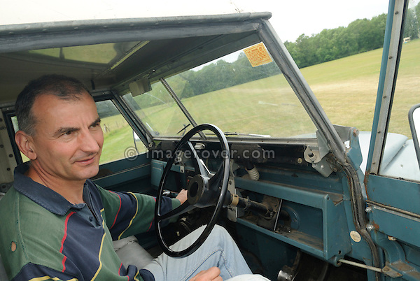 David Pile. Dunsfold Collection Open Day 2009. NO RELEASES AVAILABLE.