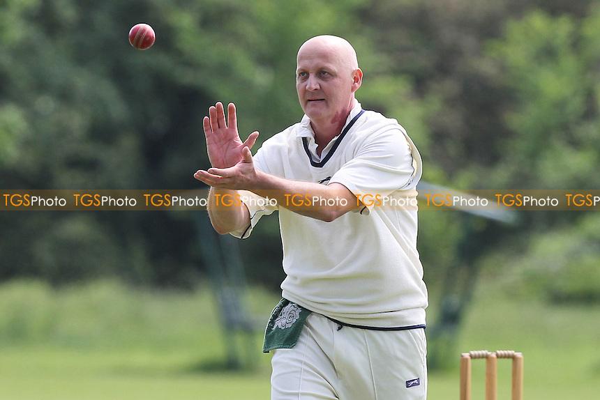 J Wratten of Rainham - Rayne CC vs Rainham CC - Mid-Essex Cricket League at Oak Meadow - 02/06/12 - MANDATORY CREDIT: Gavin Ellis/TGSPHOTO - Self billing applies where appropriate - 0845 094 6026 - contact@tgsphoto.co.uk - NO UNPAID USE.