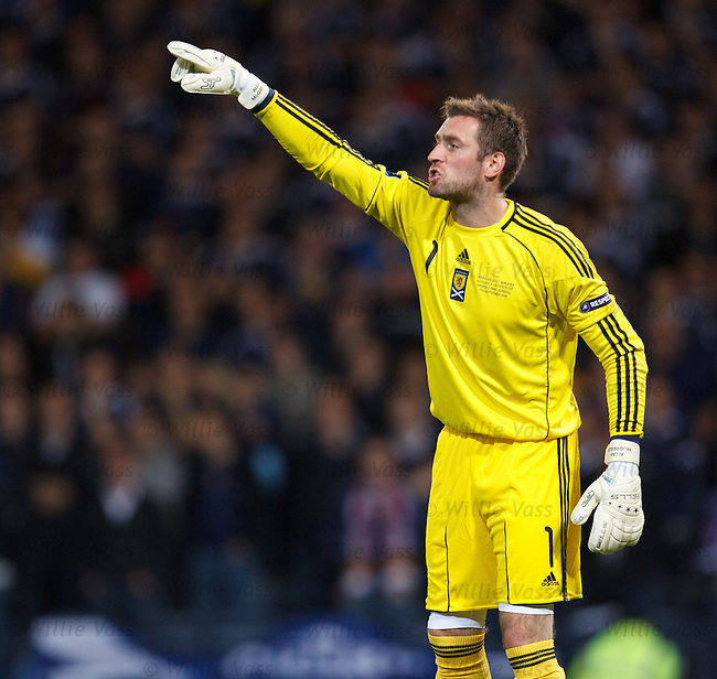 Allan McGregor, Scotland
