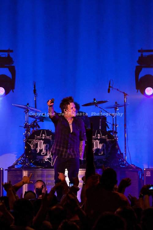 Papa Roach live concert at The Palladium Ballroom on May 10, 2010 in Dallas, TX.