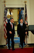 Washington, D.C. - October 31, 2005 -- United States President George W. Bush announces the nomination of United States Court of Appeals for the Third Circuit Judge Samuel A. Alito, Jr., to replace Sandra Day O'Connor as Associate Justice of the United States Supreme Court.  Alito's family was on hand for the announcement. .Credit: Jay L. Clendenin - Pool via CNP