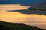 Dusk, Franklin Delano Roosevelt Lake on the Columbia River at the Sandpoil River, Washington.