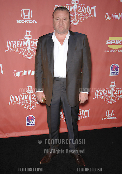 "Ray Winstone at Spike TV's ""Scream 2007"" Awards honoring the best in horror, sci-fi, fantasy & comic genres, at the Greak Theatre, Hollywood..October 20, 2007  Los Angeles, CA.Picture: Paul Smith / Featureflash"