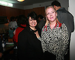 Journalist/Editor Anne Raso and Worley Gig Dot.coms Gail Worley  Attend MetroGuest Website Launch Party Event Hosted by So So, Incredibly Beautiful Featuring Artwork by Carlos Charlie Perez and Julio Cesar Gonzalez at The Sky House, NY 5/4/2011