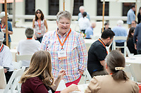 Leadership Giving Reception on the Dumke Faculty Commons Patio, AGC<br /> Occidental College hosts its annual Alumni Reunion Weekend, June 22-24, 2018 on campus. This year, alumni from the classes of 1968, 1973, 1978, 1983, 1988, 1993, 1998, 2003, 2008 and 2013 gathered to reconnect with friends and family in the Oxy community.<br /> (Photo by Marc Campos, Occidental College Photographer)