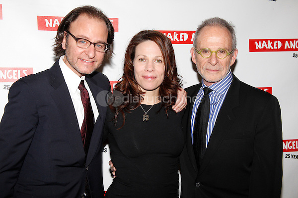 Fisher Stevens, Lili Taylor and Ron Rifkin at the Naked Angels' 25th Anniversary Gala at the Roseland Ballroom in New York City. February 14, 2011. © Star Shooter / MediaPunch Inc.