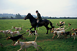 DUKE OF BEAUFORT HUNT GLOUCESTERSHIRE UK 1990S