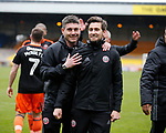 Masseur Luke Smith during the English League One match at Vale Park Stadium, Port Vale. Picture date: April 14th 2017. Pic credit should read: Simon Bellis/Sportimage