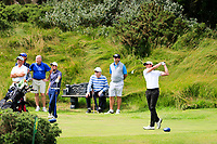 Robert Cannon (Balbriggan) during the final of the AIG Irish Close Championship, The European Club, Wicklow, Ireland. 08/08/2018.<br /> Picture Fran Caffrey / Golffile.ie<br /> <br /> All photo usage must carry mandatory copyright credit (&copy; Golffile | Fran Caffrey)