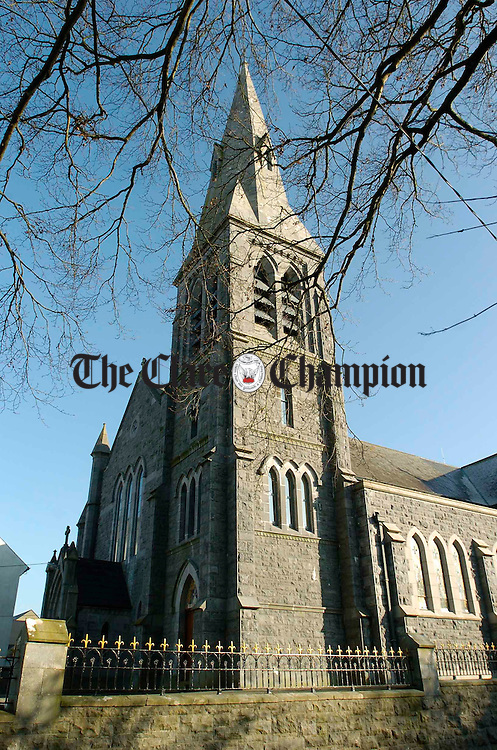 A view of Gort Church. Photograph by John Kelly.