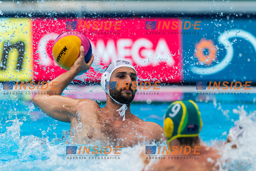 27-07-2019: WK waterpolo: Serbia v Australia: Gwangju<br /> #5 CUK Milos (SRB)<br /> Gwangju South Korea 27/07/2019<br /> Waterpolo M46 SRB - AUS<br /> 18th FINA World Aquatics Championships<br /> Nambu University Grounds <br /> Orange Pictures / Deepbluemedia / Insidefoto