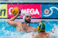 27-07-2019: WK waterpolo: Serbia v Australia: Gwangju<br /> #5 CUK Milos (SRB)<br /> Gwangju South Korea 27/07/2019<br /> Waterpolo M46 SRB - AUS<br /> 18th FINA World Aquatics Championships<br /> Nambu University Grounds <br /> Orange Pictures / Deepbluemedia / Insidefoto