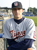 July 22, 2004:  Josh Kauten of the Oneonta Tigers, Short-Season Low-A NY-Penn League affiliate of the Detroit Tigers, during a game at Dwyer Stadium in Batavia, NY.  Photo by:  Mike Janes/Four Seam Images