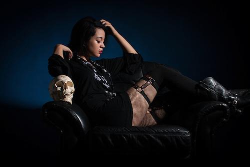 Studio shoot with Lauren Napier.<br /> m.modelmayhem.com/382888