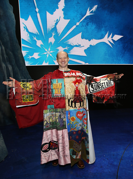 Jeremy Davis  during the Actors' Equity Opening Night Gypsy Robe Ceremony honoring Jeremy Davis for 'Frozen' at the St. James Theatre on March 22, 2018 in New York City.