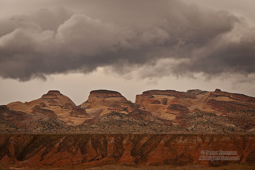 Storm over Capitol Reef, Utah