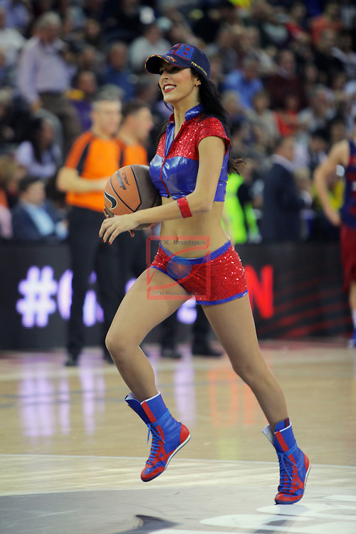 Turkish Airlines Euroleague 2016/2017.<br /> Regular Season - Round 8.<br /> FC Barcelona Lassa vs R. Madrid: 63-102.<br /> Dream Cheers.