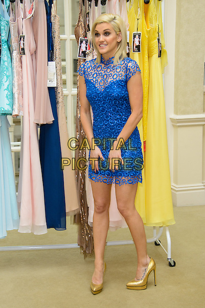 LONDON, ENGLAND - MARCH 25: Ashley Roberts Launches her Spring Collection of Key Fashion at the Landmark Hotel on March 25, 2014 in London, England. <br /> CAP/CJ<br /> &copy;Chris Joseph/Capital Pictures