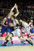 Rabaseda vs Grimau. FC Barcelona Regal vs Uxue Bilbao Basket