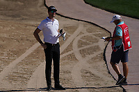 Sebastian Heisele (GER) in the rough on the 5th during Round 2 of the Abu Dhabi HSBC Championship 2020 at the Abu Dhabi Golf Club, Abu Dhabi, United Arab Emirates. 17/01/2020<br /> Picture: Golffile   Thos Caffrey<br /> <br /> <br /> All photo usage must carry mandatory copyright credit (© Golffile   Thos Caffrey)