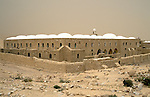 The Judean desert. Nabi Musa, holy site for Muslims housing according to tradition the grave of Prophet Moses&amp;#xA;<br />