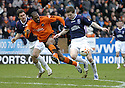 23/02/2008    Copyright Pic: James Stewart.File Name : sct_jspa11_dundeee_utd_v_falkirk.DARREN BARR GETS THE BETTER OF MARK DE VRIES.James Stewart Photo Agency 19 Carronlea Drive, Falkirk. FK2 8DN      Vat Reg No. 607 6932 25.Studio      : +44 (0)1324 611191 .Mobile      : +44 (0)7721 416997.E-mail  :  jim@jspa.co.uk.If you require further information then contact Jim Stewart on any of the numbers above........