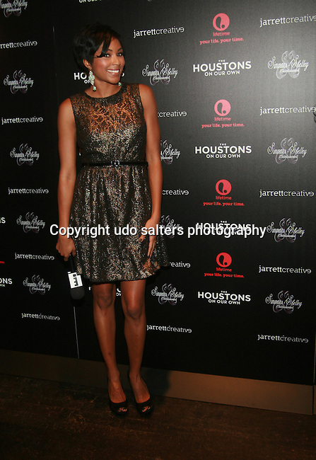 E! News Correspondents Alicia Quarles At The Houstons: On Our Own premiere party celebrating the launch of the new Lifetime docuseries held at Tribeca Grand Hotel, NY   10/22/12