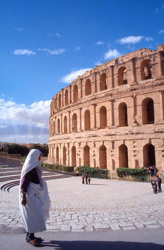 Tunisia The ancient Roman amphitheatre od El Jem