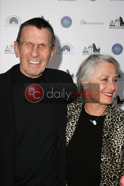 Leonard Nemoy and Susan Bay<br />