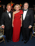 Pete Conway with Lynn and Mike Lynch at the Rice University Shepherd School of Music gala Thursday Feb. 19, 2009.(Dave Rossman/For the Chronicle)