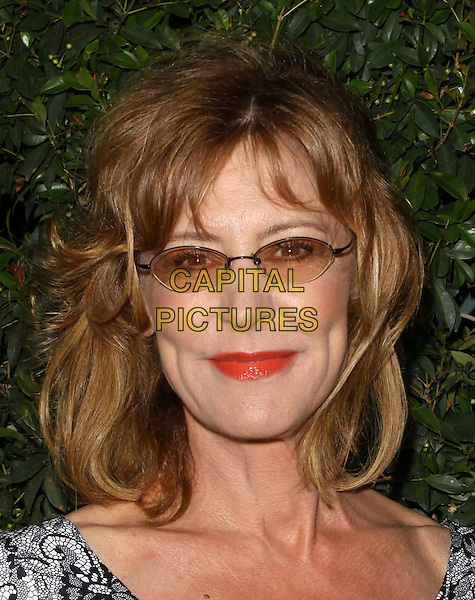"CHRISTINE LAHTI.""Capitalism: A Love Story"" Los Angeles Premiere held At AMPAS Samuel Goldwyn Theater, Beverly Hills, California, USA..September 15th, 2009.headshot portrait tinted red lipstick glasses.CAP/ADM/KB.©Kevan Brooks/AdMedia/Capital Pictures."